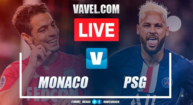 Gols e melhores momentos Monaco x Paris Saint-Germain pela Ligue 1 (1-4)