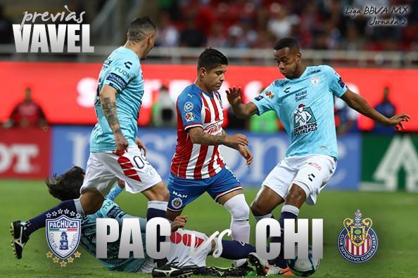 Previa Pachuca - Chivas: a por la supremacía de la Liga MX