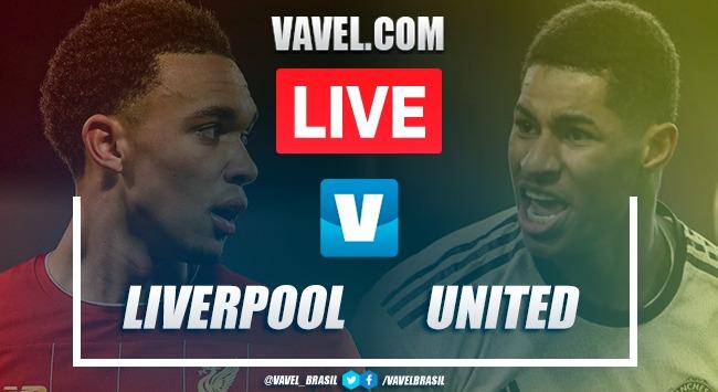 Gols e melhores momentos de Liverpool x Manchester United pela Premier League (2-0)