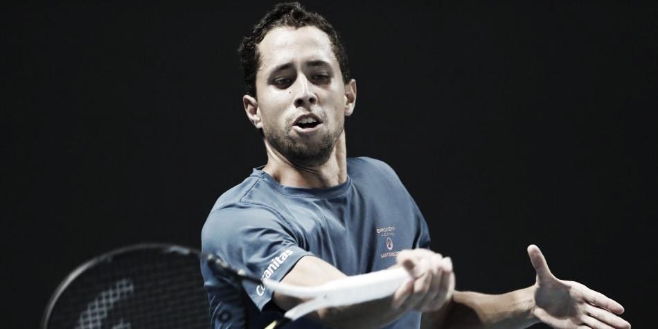 Se acabó el sueño de Daniel Galán en el primer Grand Slam del año