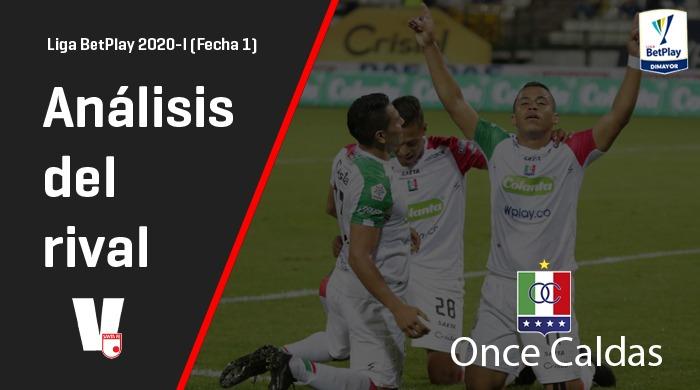 Análisis del rival, Independiente Santa Fe: Once Caldas