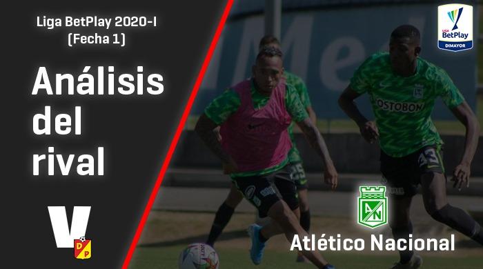 Deportivo Pereria, análisis del rival: Atlético Nacional