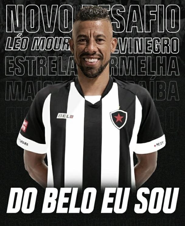 Botafogo-PB anuncia contratação de Léo Moura