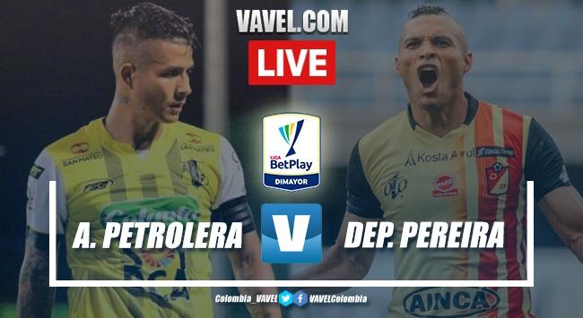 Resumen del partido entre Alianza Petrolera y Deportivo Pereira (1-0)