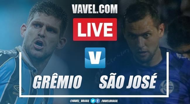 Gols e melhores momentos de Grêmio 2 x 1 São José pelo Campeonato Gaúcho