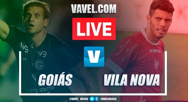 Gols e melhores momentos de Goiás x Vila Nova pelo Campeonato Goiano (1-1)