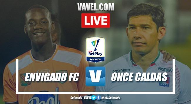 Envigado FC vs Once Caldas en VIVO online por Liga BetPlay (0-1)