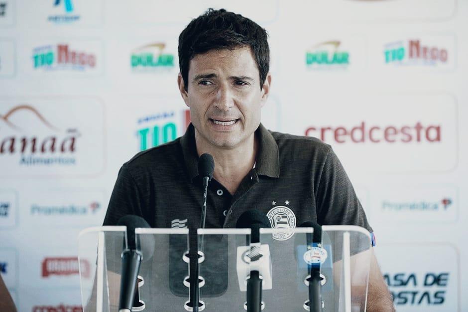 Diretor de futebol do Bahia, Diego Cerri, avalia atual elenco e primeiros jogos do time