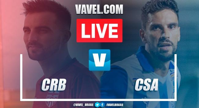 Gols e melhores momentos de CRB x CSA pela Copa do Nordeste (1-1)