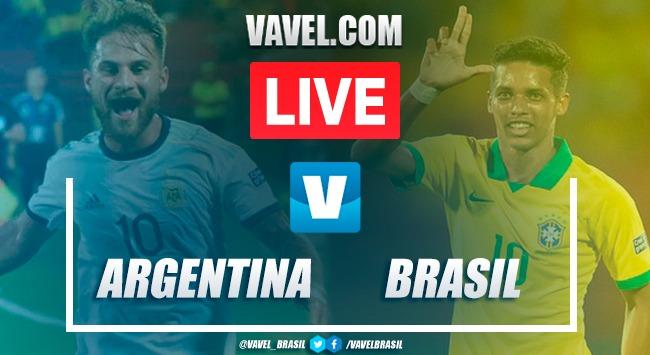 Gols e melhores momentos de Argentina x Brasil pelo Torneio Pré-Olímpico de Futebol (0-3)