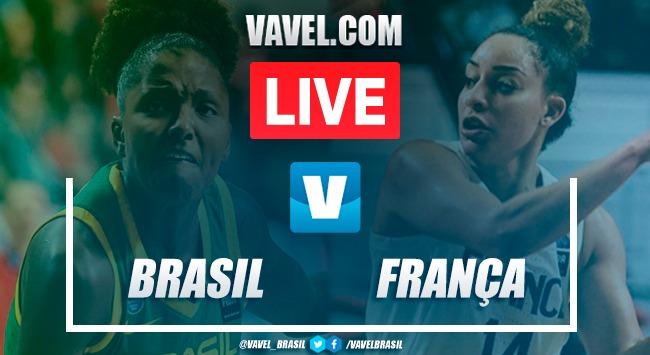 Melhores momentos de Brasil x França pelo Torneio Pré-Olímpico de Basquete Feminino (72-89)