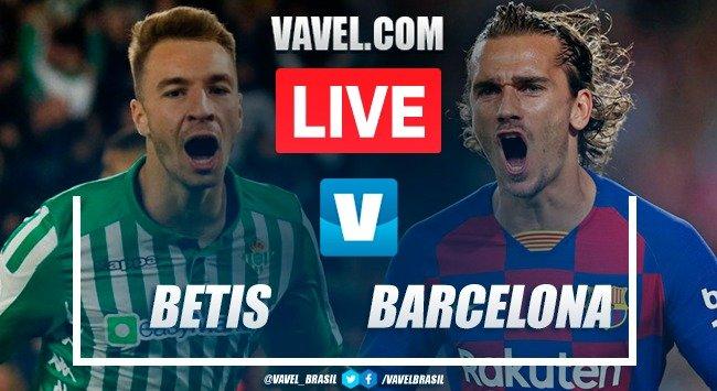 Gols e melhores momentos Betis 2x3 Barcelona pela LaLiga
