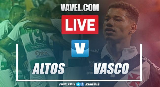 Melhores momentos Altos x Vasco pela Copa do Brasil (1-1)
