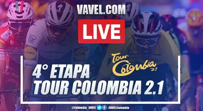 Resumen etapa 4 del Tour Colombia