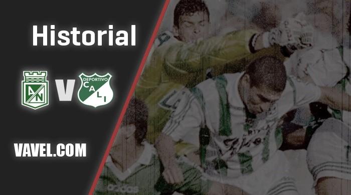 Historial entre Atlético Nacional y Deportivo Cali