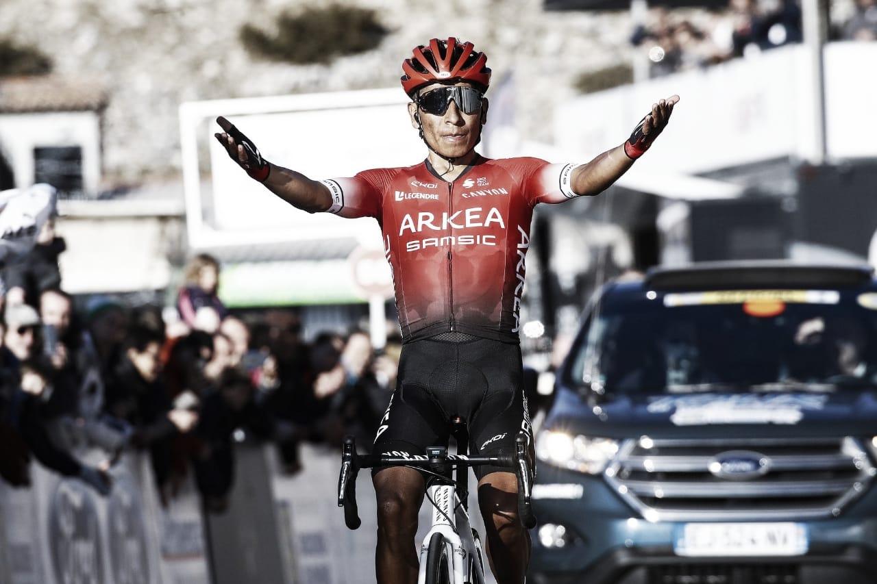 El World Tour echa de menos a Nairo, exhibición de Quintana en el Mont Ventoux