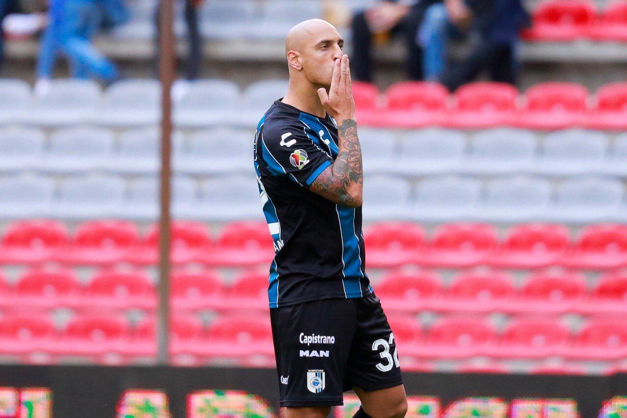 Ariel Nahuelpán: el delantero que Querétaro necesitaba