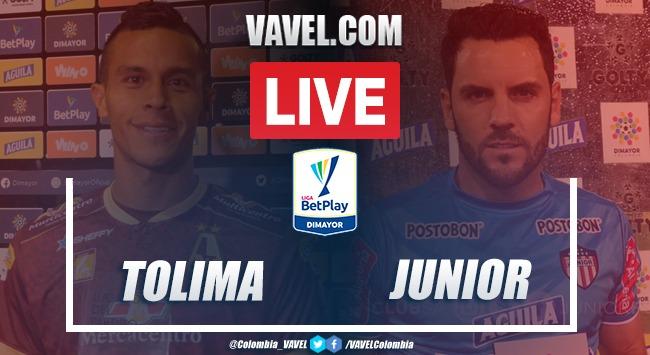 Resumen Tolima 0-0 Junior en Fecha 6 Liga BetPlay 2020