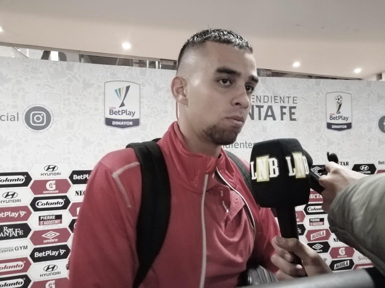 """Daniel Giraldo: """"Uno siempre quiere dar más, pero pude aportar al equipo"""""""