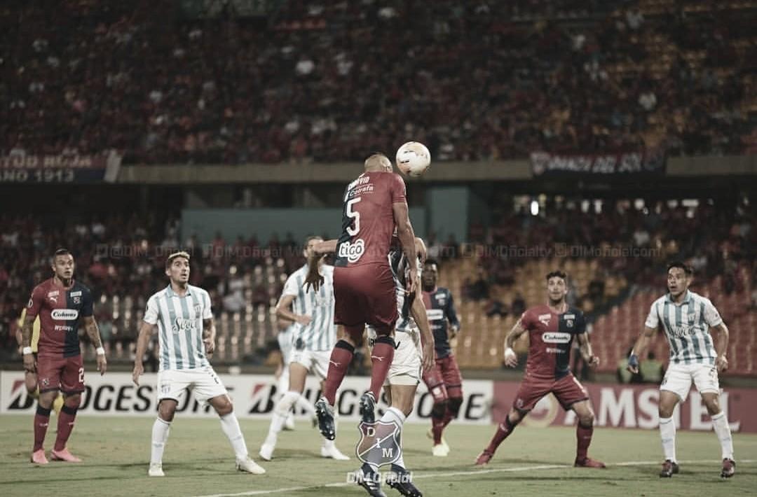 Puntuaciones en la clasificación de Medellín a la fase de grupos de la Copa Libertadores