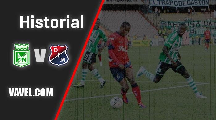 Historial Atlético Nacional vs. Independiente Medellín: dominio 'verde'