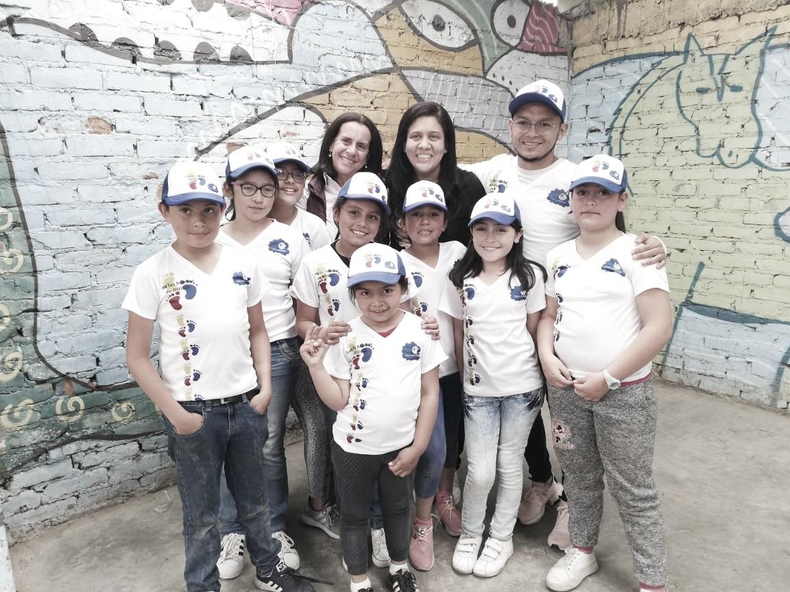 Los niños de la Fundación Mariana Novoa corrieron la Run Tour Kids