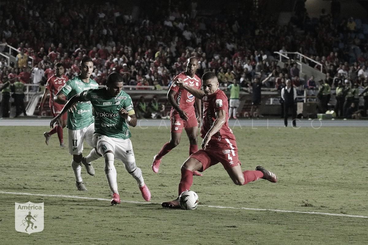 Puntuaciones de América de Cali en el empate frente al Deportivo Cali