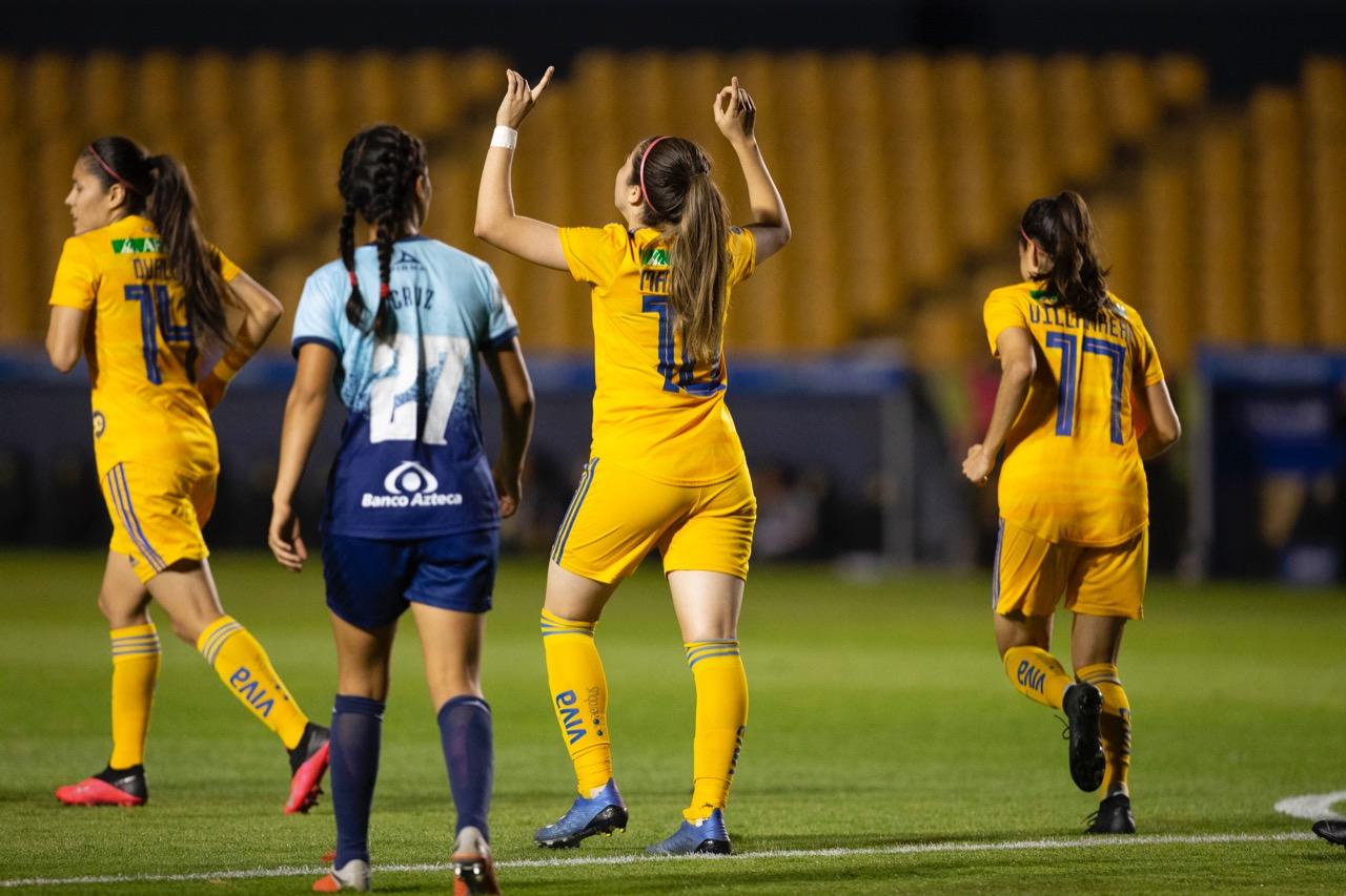 Tigres Femenil continúa con el invicto y liderato en el torneo