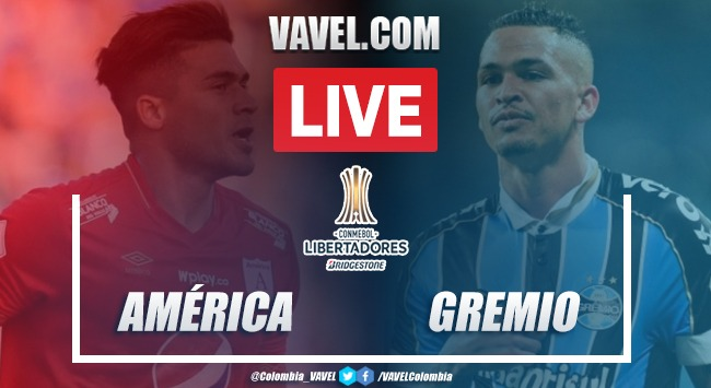 Resumen y goles: América 0-2 Gremio Copa Libertadores 2020