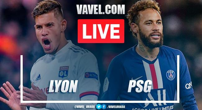Gols e melhores momentos Lyon 1x5 pela Copa da França 2019-20