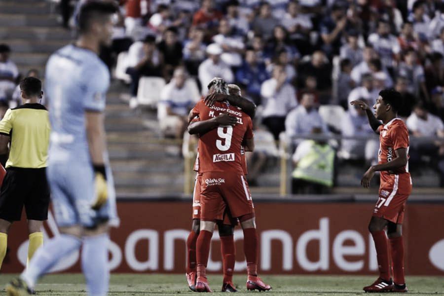 Datos estadísticos de la victoria de América 1-2 ante Universidad Católica en Chile