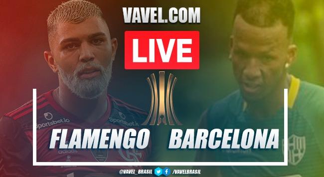 Gols e melhores momentos de Flamengo x Barcelona de Guayaquil pela Libertadores (3-0)