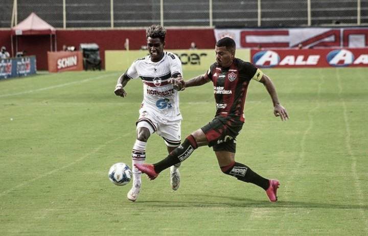 Em tarde de goleada, Vitória bate River e dá passo importante para classificação na Copa do Nordeste