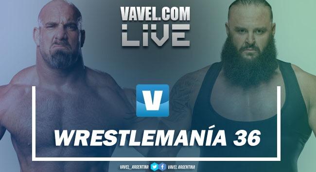 Wrestlemania 36 EN VIVO, minuto a minuto del evento más grande de lucha libre