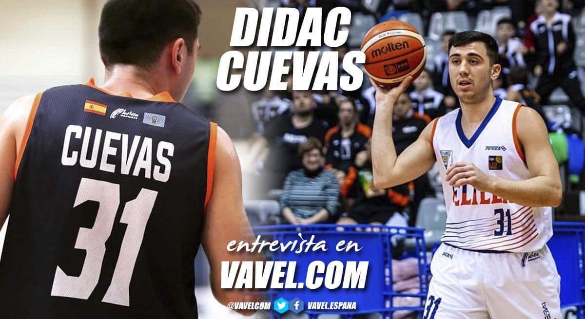 """Entrevista. Dídac Cuevas: """"He dado un paso adelante para demostrar que puedo competir a este nivel"""""""