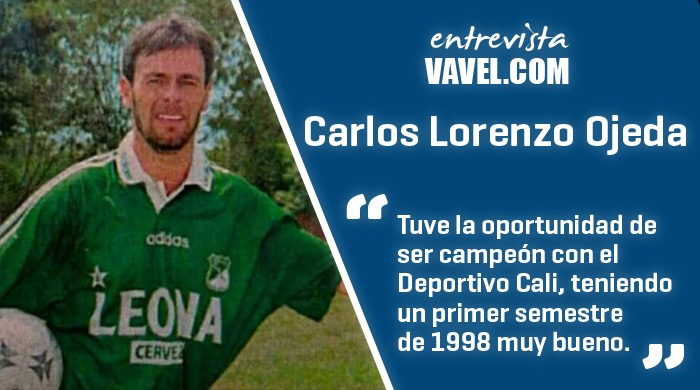 Entrevista Carlos Lorenzo Ojeda: 'Estoy muy agradecido con el Cali, me hice hincha de verdad'