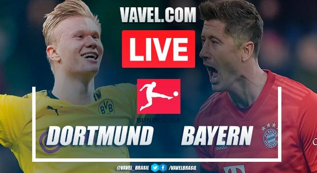 Gols e melhores momentos de Borussia Dortmund x Bayern de Munique pela Bundesliga (0-1)