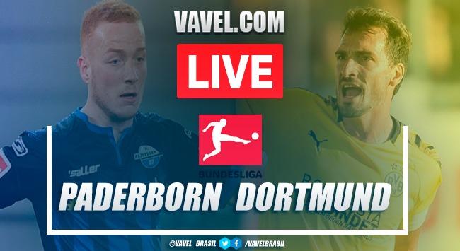 Gols e melhores momentos de Paderborn x Borussia Dortmund pela Bundesliga (1-6)