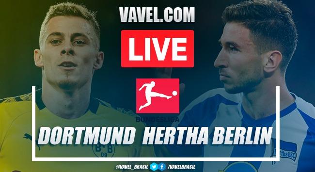 Gols e melhores momentos Borussia Dortmund x Hertha Berlin pela Bundesliga 2019-20 (1-0)