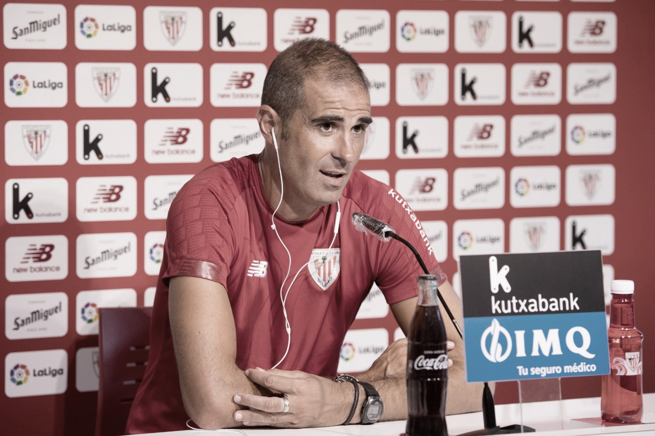 """Garitano: """"El equipo se ha preparado bien y vamos a jugar para ganar"""""""