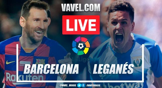 Gols e melhores momentos Barcelona 2x0 Leganés pela LaLiga 19-20