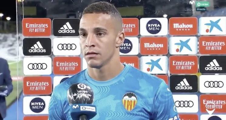 """Rodrigo Moreno: """"Siempre estamos con interpretaciones, es la primera vez que un árbitro revisa un fuera de juego"""""""