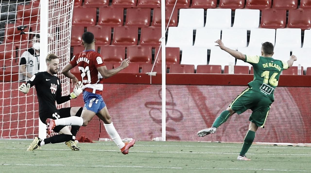 Granada CF - SD Eibar: puntuaciones del Granada, jornada 32 de LaLiga