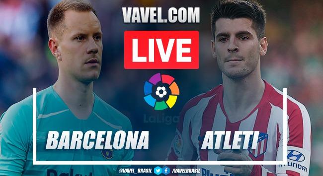 Gols e melhores momentos Barcelona x Atlético de Madrid pelo Campeonato Espanhol 2019-20 (2-2)