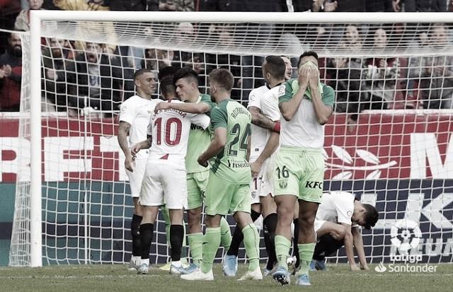 Resumen Leganés 0 - 3 Sevilla en LaLiga Santander 2020