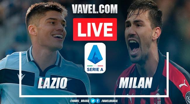 Gols e melhores momentos de Lazio x Milan na Serie A (0-3)