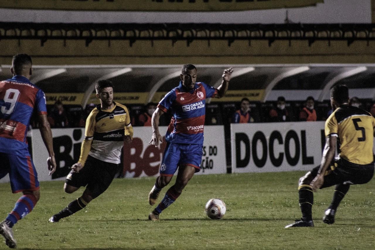 Criciúma e Marcílio Dias empatam sem gols no retorno do Catarinense