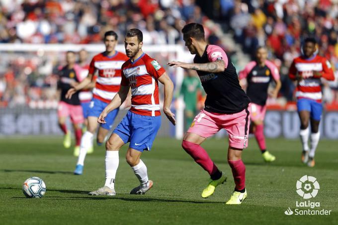 Precedentes bastante favorables para el Granada CF ante el Mallorca