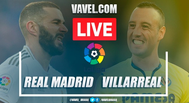 Gols e melhores momentos de Real Madrid x Villarreal em LaLiga (2-1)