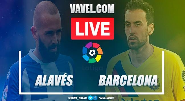 Gols e melhores momentos de Alavés x Barcelona em LaLiga (0-5)